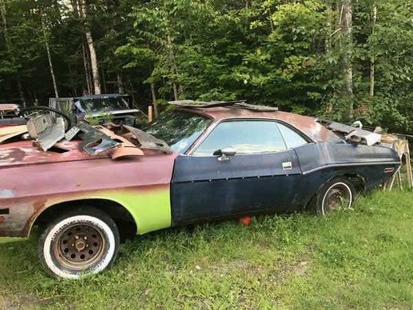 Find Of The Day: Two 1970 Dodge Challenger Project Cars - Muscle Car