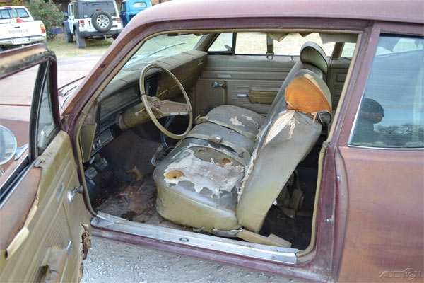 1970 Chevrolet Nova Barn Find - Muscle Car