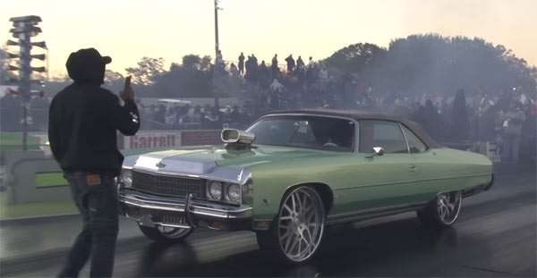 Big Wheel Donk At No Guts No Glory 5! - Muscle Car