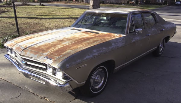 Old Muscle Cars For Sale >> 1969 Chevrolet Chevelle Malibu Rescue - Muscle Car