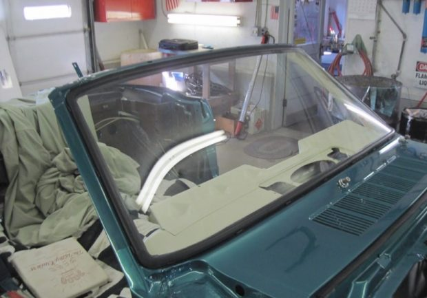 mustang windshield