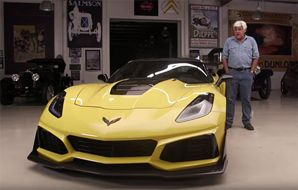 2019 Corvette Zr1 Jay Leno S Garage Muscle Car