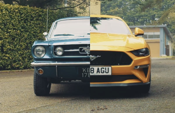 old to new mustangs a pony  muscle car to go almost Car Driving Car Skidding