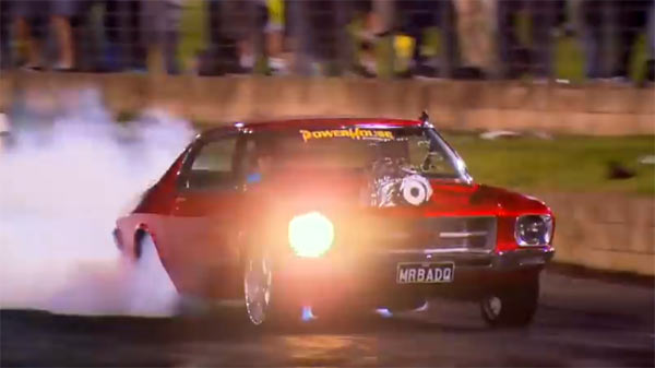 Aussie Burnout Done In Style Muscle Car
