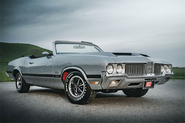 1970 Oldsmobile 442 W30 Convertible - Muscle Car