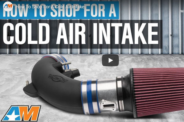 Mustang Cold Air Intake Image