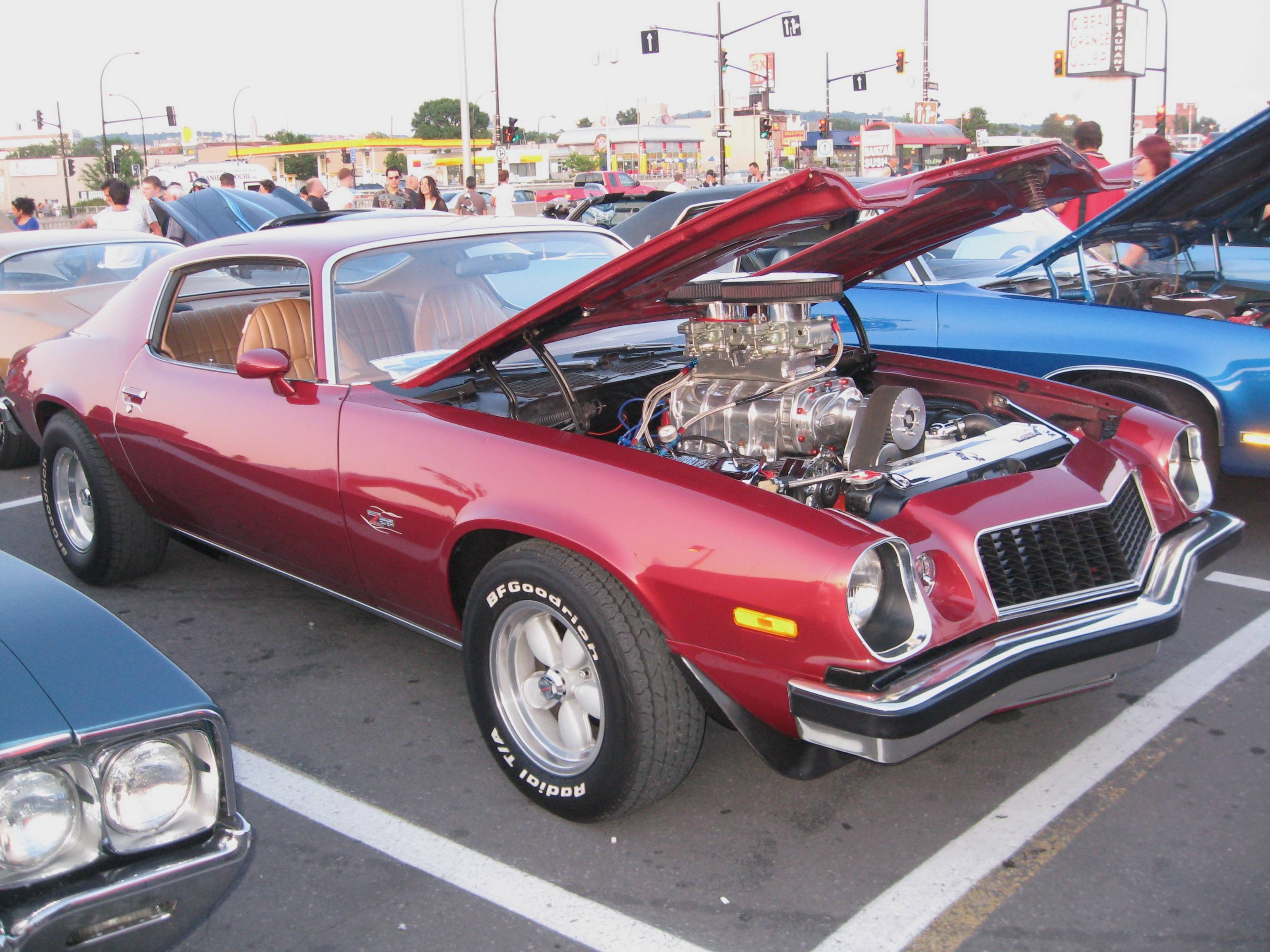 Camaro 1974 Dragster