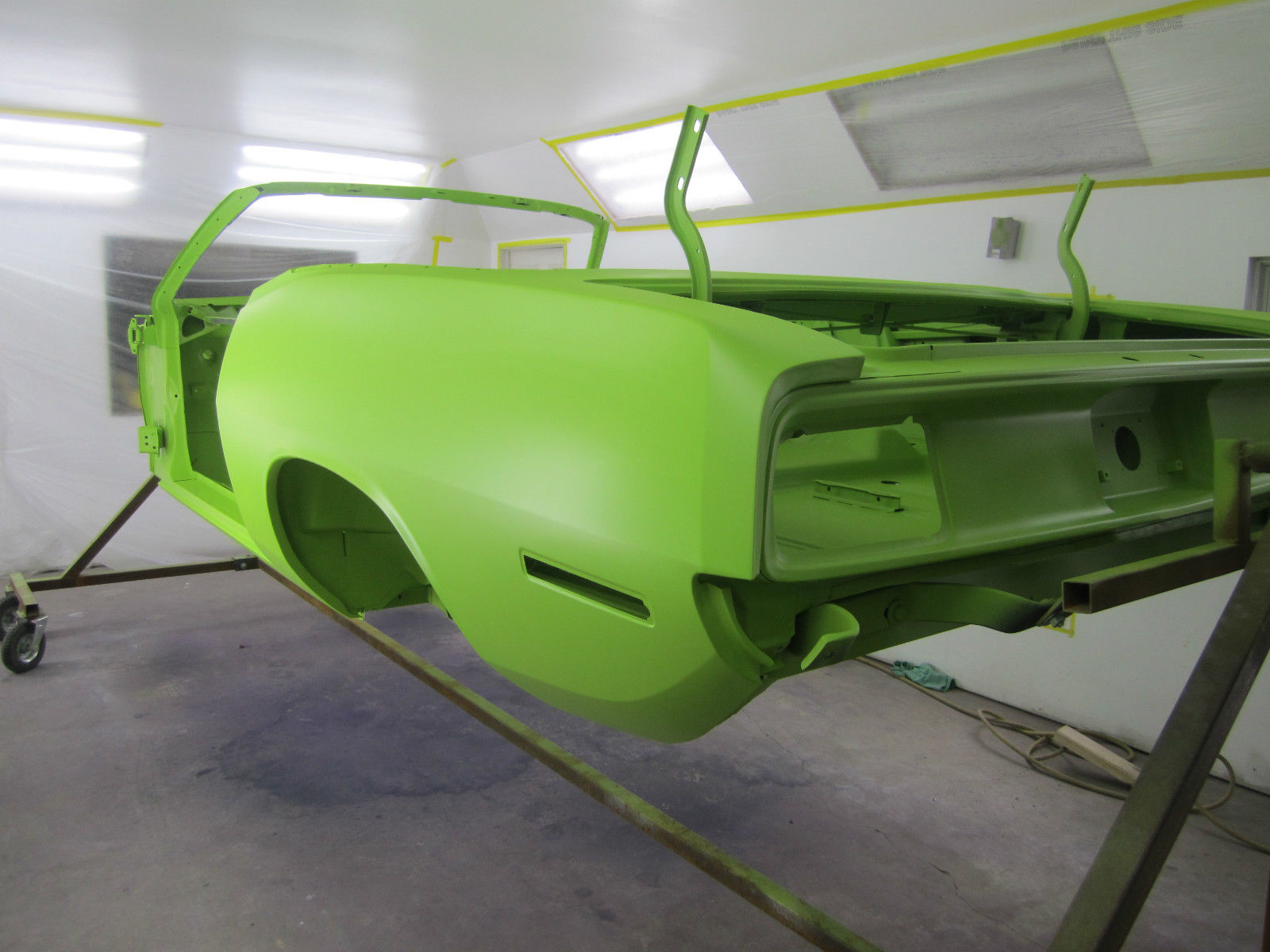 1970 Barracuda Convertible Factory Limelite Green Grand Coupe