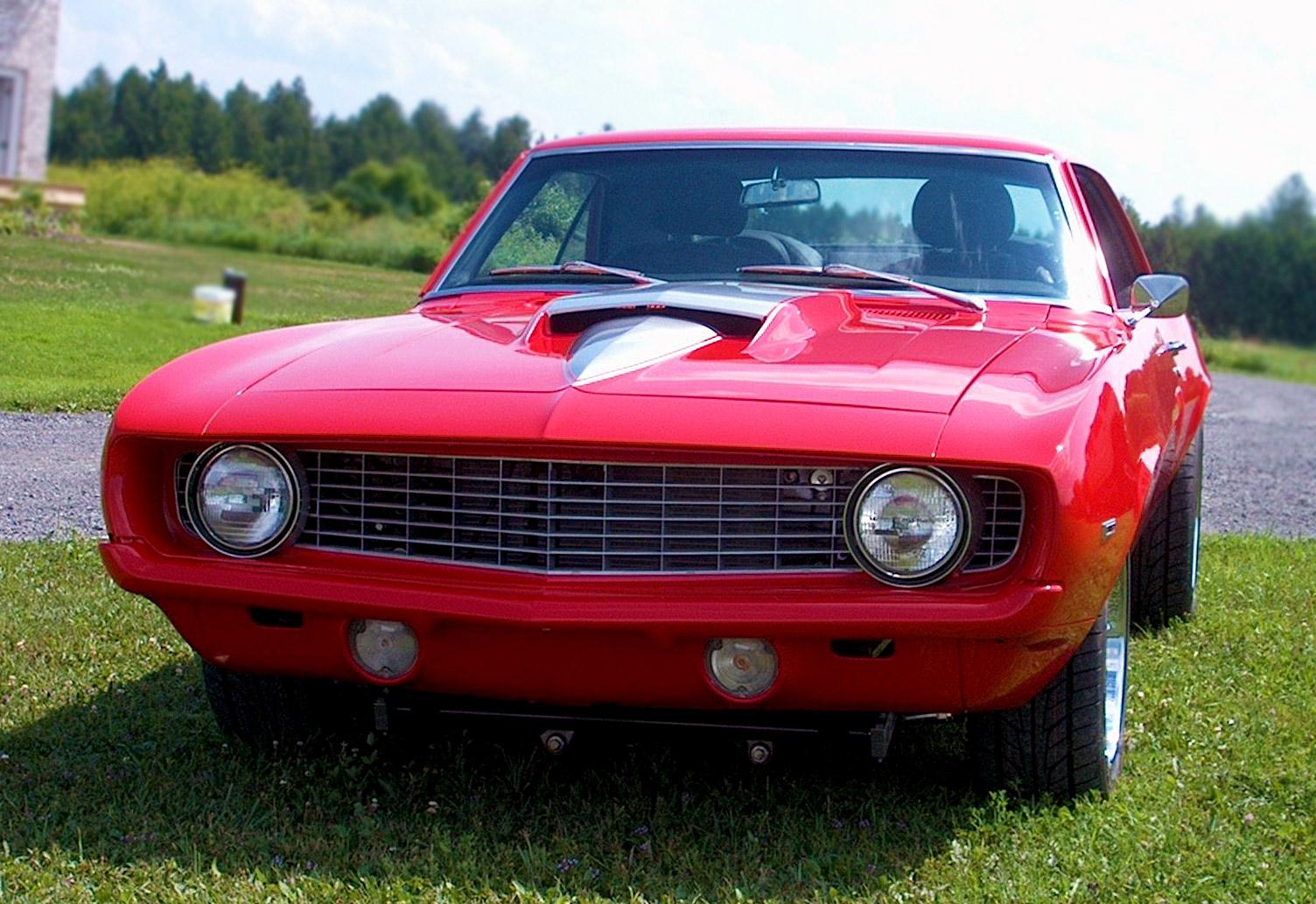 1969 Chevrolet Camaro Pro Street Supercharged1