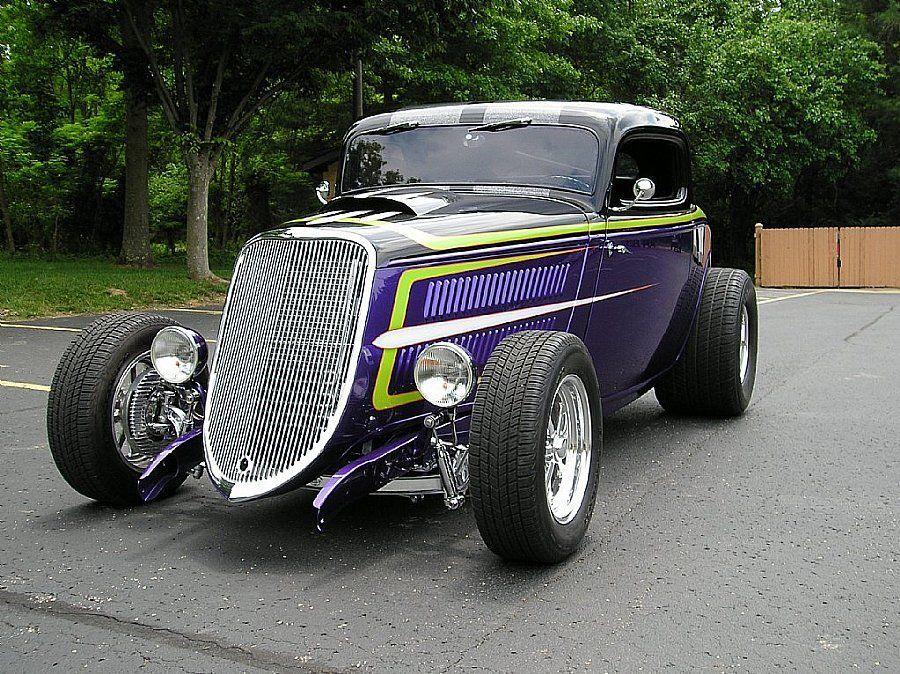1934 Ford 3 Window Street Rod2