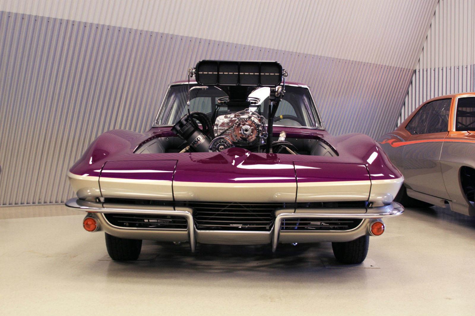 1963 Corvette Pro-Street 513 ci Keith Black Hemi Rad Rides by Troy Build-14
