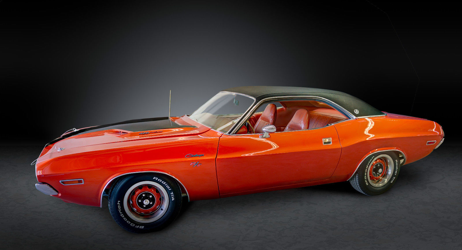 1970 Dodge Challenger RT 2 DR HT Spec Edition 426 Hemi Burnt Orange2