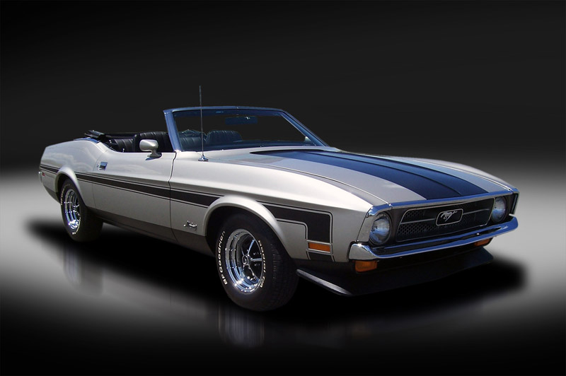 1971 Ford Mustang Convertible. 1 of 1 Built-1223