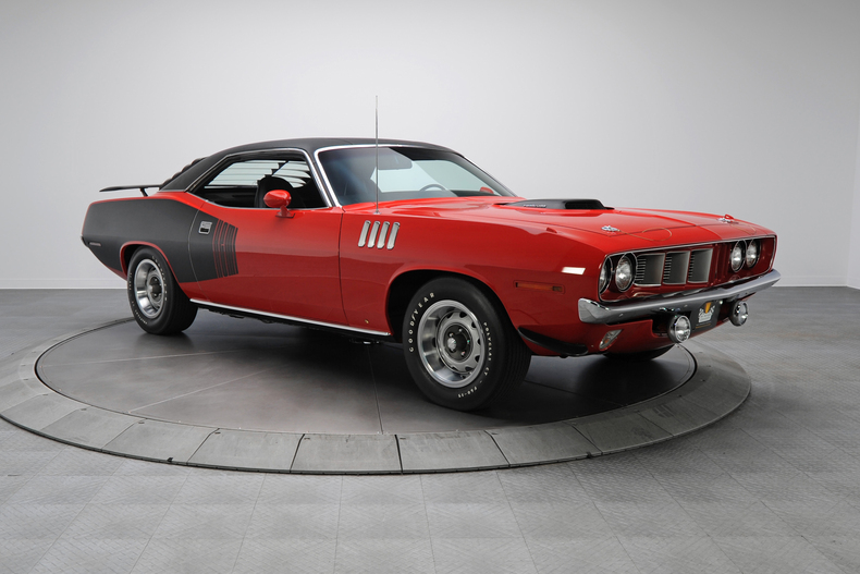 1971 Plymouth Barracuda Hemicuda133