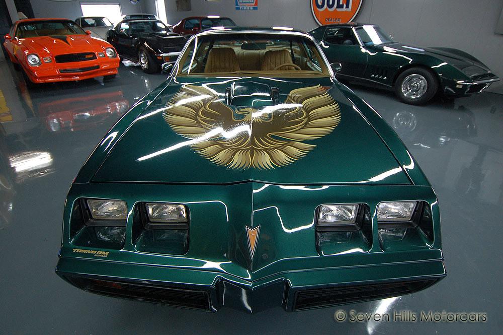 1979 Pontiac Trans Am 4 Speed WS6 400ci GreenCamel-134545