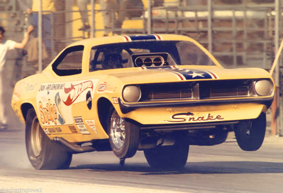 1970 Don the Snake Prudhomme Plymouth Cuda