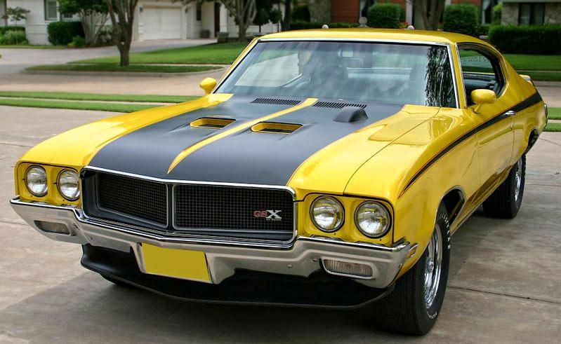 1970 Buick 'GSX' Stage 1, 360 bhp, Saturn Yellow