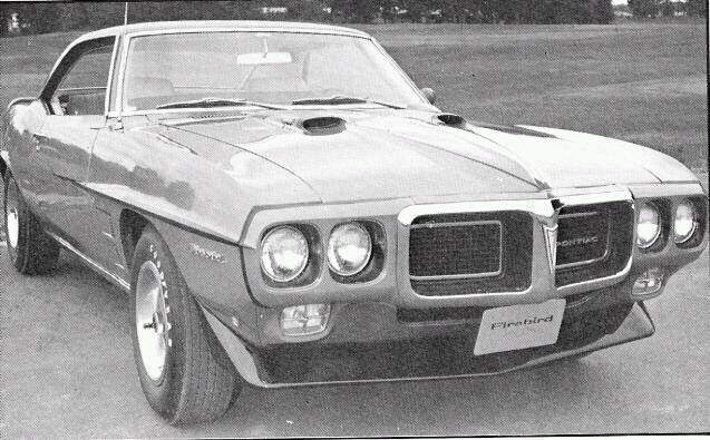 """Developed first week of July 1969 by GM Executives, as a """"What If"""" scenario just in case the new 1970 F Bodys were not able to reach production and they had to use the same F body's from 1969 for 1970 model year. The 1969 Pontiac Trans Am Engineering Prototype Test Car #9723 was Built 1st week of July 1969 .As you can see in these rare B/W photos the Front seats are very unique,as well as the rear quarter has been changed. Using this one car they came up with 2 different body designs factoring in cost vs production time. The b/w of the drivers side show wind splits that ran length of the car and were rivoted to the car .Evidence of this can be seen by looking inside the fenders,door,and rear quarter some of the rivots are still in place. The car has some very unique GM parts and part#'s. The leather interior boasts High Backet Bucket Racing Seats with GM # 8738440. These seats with GM# 8738440 appear in a GM Catalog dated July 1969, with a denotation * New Part Initial Catalog , This interior and seats are the only known type in existence even though the GM Catalog shows them as a new part they were never put into production. The dual snorkel aircleaner is also unique and bears a unique GM#. Another unique item is prototype Teneco part #78740 Monroe Max Air Shocks Race suspension .Verified by Teneco Monroe as the 40th pair of Max Air shocks produced by Monroe (7) 1968 (8) July (7) unit #40(40); (78740). The steering wheel is also a prototype for future formula wheels .Made in Italy by Person`al of Italy, This wheel is 1 of 3 known to exist .The others in Existence appear on a 1968 Ferrari and 1969 Porsche Speedster. The Engine is a preproduction 455 H.O. ; The term High Output was chosen over Ram Air due to California's tightening emissions control. Since the majority of the nations auto sales would occur in California ,It makes complete sense why the big automaker tailored to the states regulations. The engine is a W.S. engine code , with a 9790071 casting, #16 Hea"""