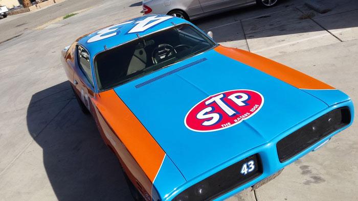 1971 Dodge Charger 43 race car 318, Richard-Petty