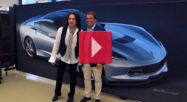 Paul Stanley Concept Car: 2015 Corvette Stingray