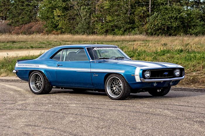 1969 Chevrolet Camaro, Turbo, Restomod, 750hp1