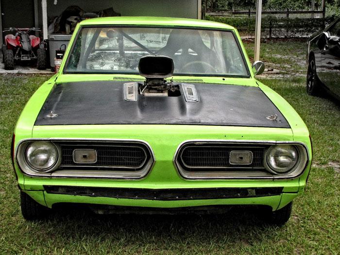 1969 Plymouth Barracuda Monster 440 Drag Car
