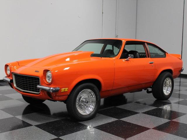 1972 Chevrolet Vega 350 V8, 4 Speed, 292 Comp. Cam., Resto Mod-134