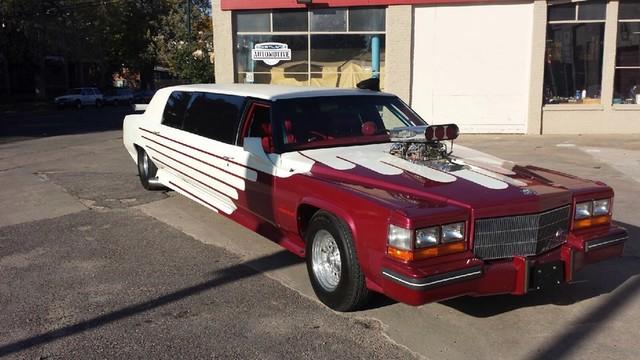 1981 Cadillac Fleetwood Limousine -1