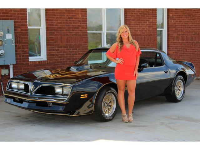 1978 Pontiac Trans Am T Tops PS PDB AC 400 4 Speed1