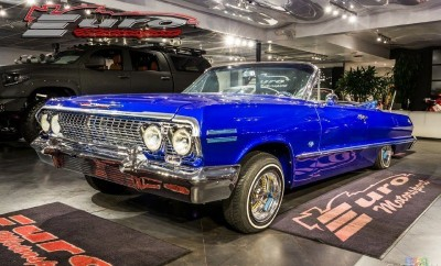 1963 Chevrolet Impala SS Convertible-1
