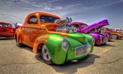Hotrod-at-Wings-Wheels-&-Warriors-Car-Show-1