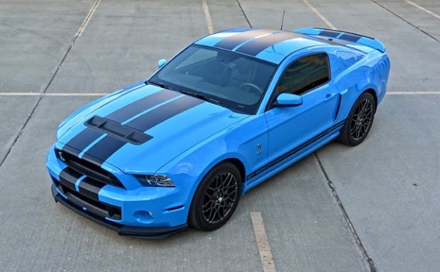 2014 Ford Mustang Shelby GT500 SVT Performance Track Package, 662 hp. - Muscle Car